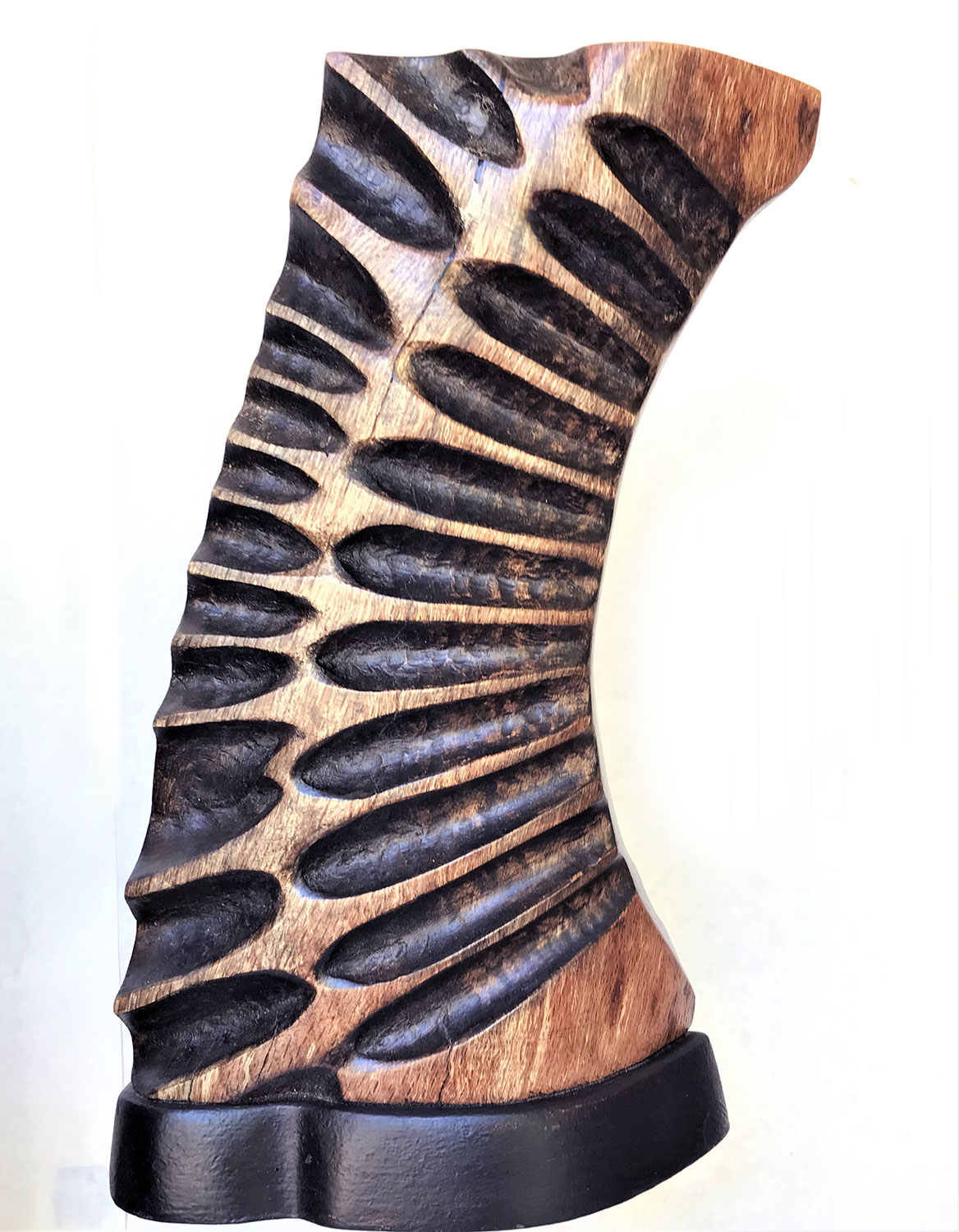 Wood Sculpture by Mike Laflin