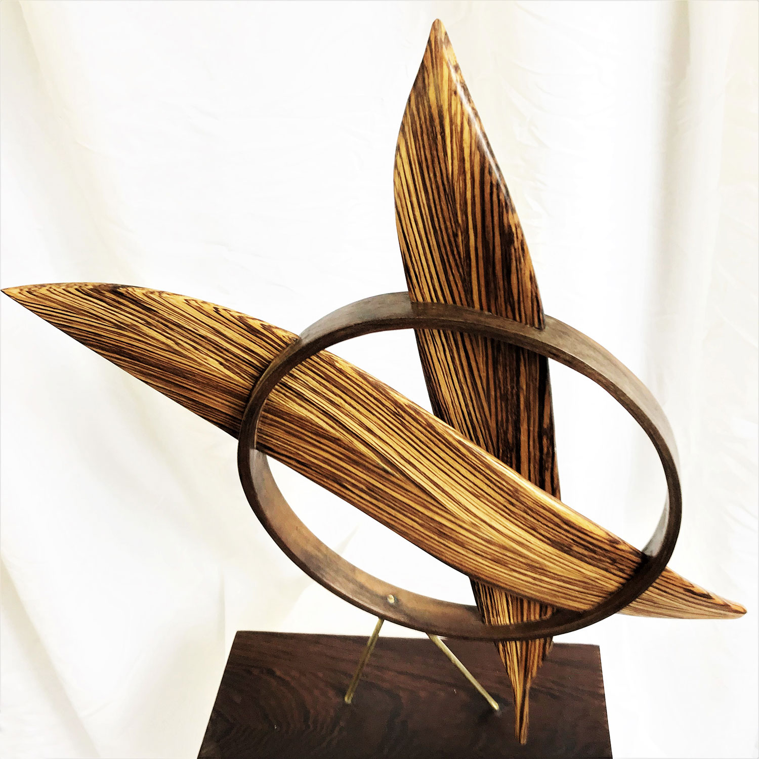 Wood-Metal Sculpture by Mike Laflin